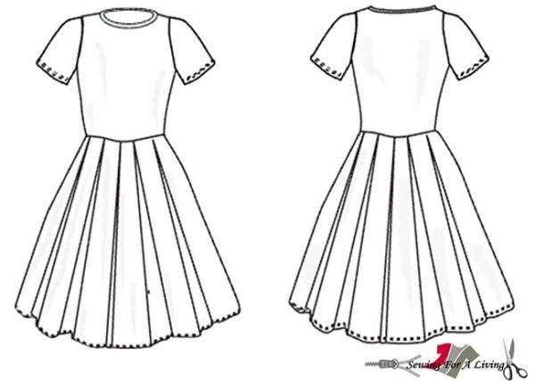 girls dress sewing pattern free