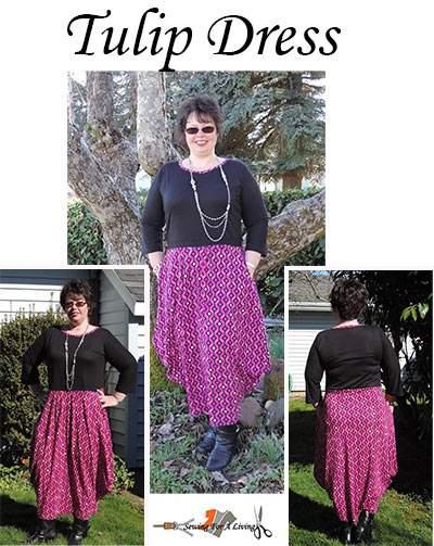 tulip dress pattern women